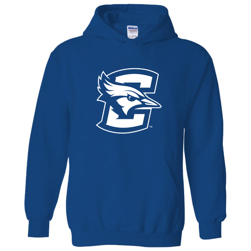 Creighton University Bluejays Primary Logo Heavy Blend Hoodie - Royal