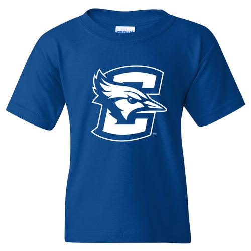 Creighton University Bluejays Primary Logo Youth Short Sleeve T Shirt - Royal
