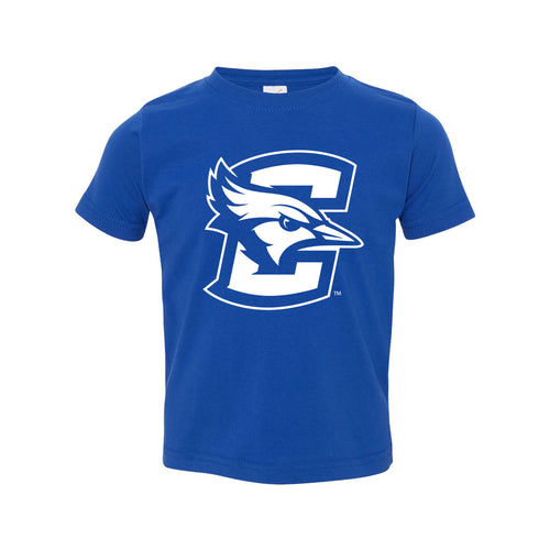 Creighton University Bluejays Primary Logo Toddler Short Sleeve T Shirt - Royal