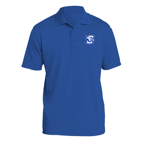 Creighton University Bluejays Primary Logo Polo - Royal