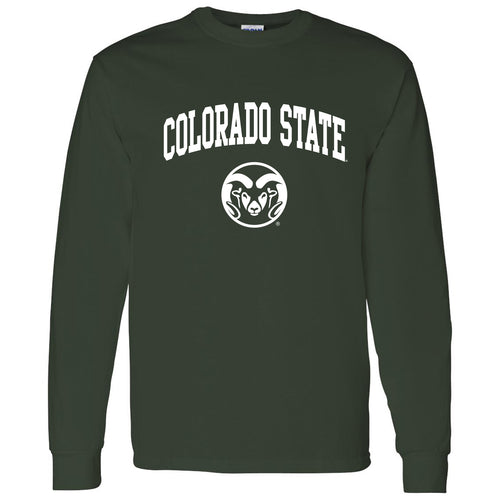Colorado State University Rams Arch Logo Long Sleeve - Forest