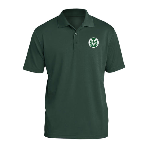 Colorado State University Rams Primary Logo Polo - Forest