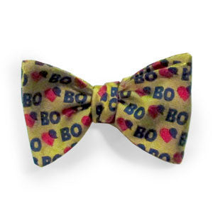 University of Michigan Cardiovascular Center Bo Schembechler Bo Tie - Maize