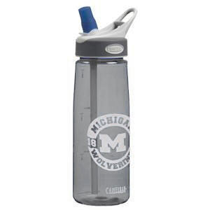 University of Michigan Camelbak .75L Bottle - Charcoal