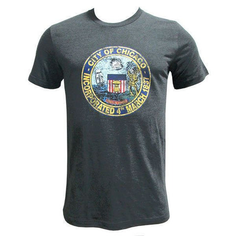 Chicago City Seal - Dk Grey