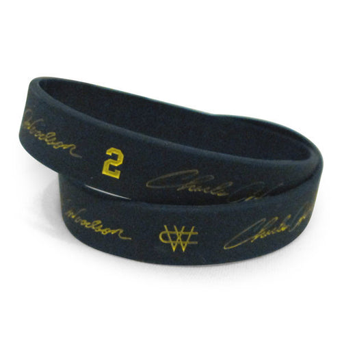 Charles Woodson Wristband - Navy (Single Wristband)