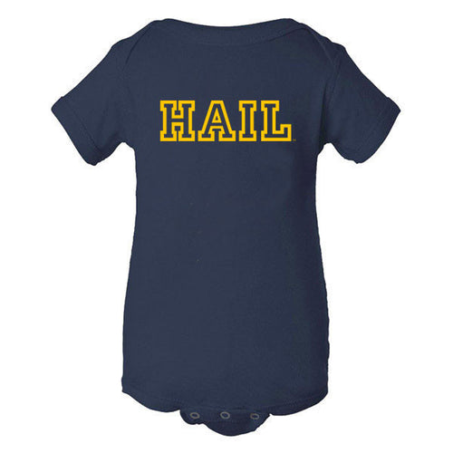 Hail Outline Creeper - Navy