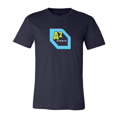 Destination Ann Arbor Sports Unisex Canvas T Shirt - Navy