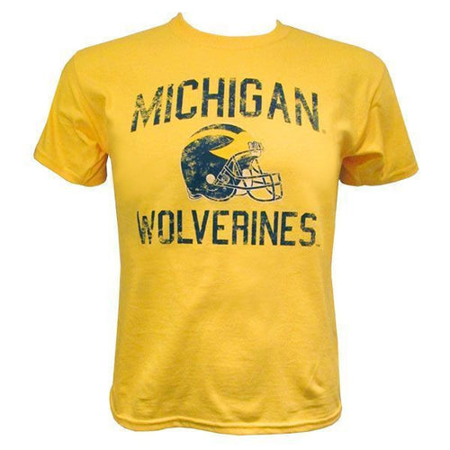 Michigan Faded Helmet Youth - Maize
