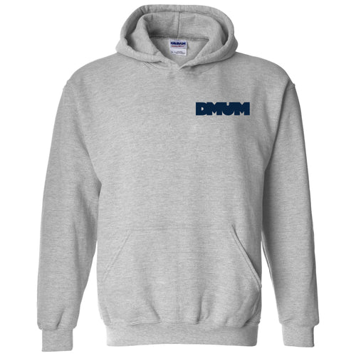 DMUM Bubble Hooded Sweatshirt - Sport Grey