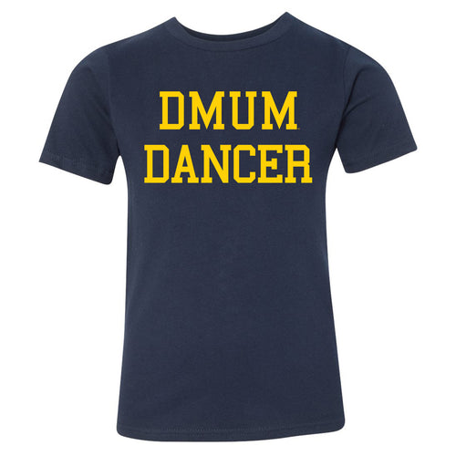 DMUM Dancer Youth Tee - Navy