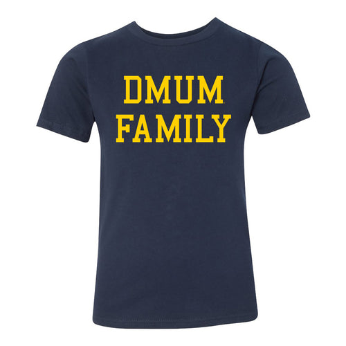DMUM Family Youth Tee - Navy