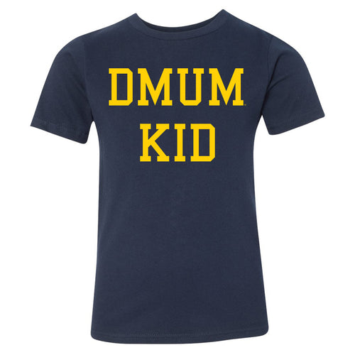 DMUM Kid Youth Tee - Navy