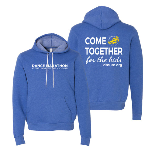 DMUM Recruitment Sponge Fleece Pullover Hoodie - Heather True Royal