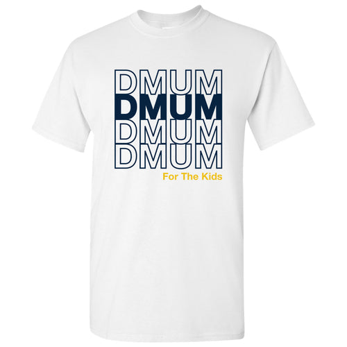 DMUM Stacked T-Shirt - White
