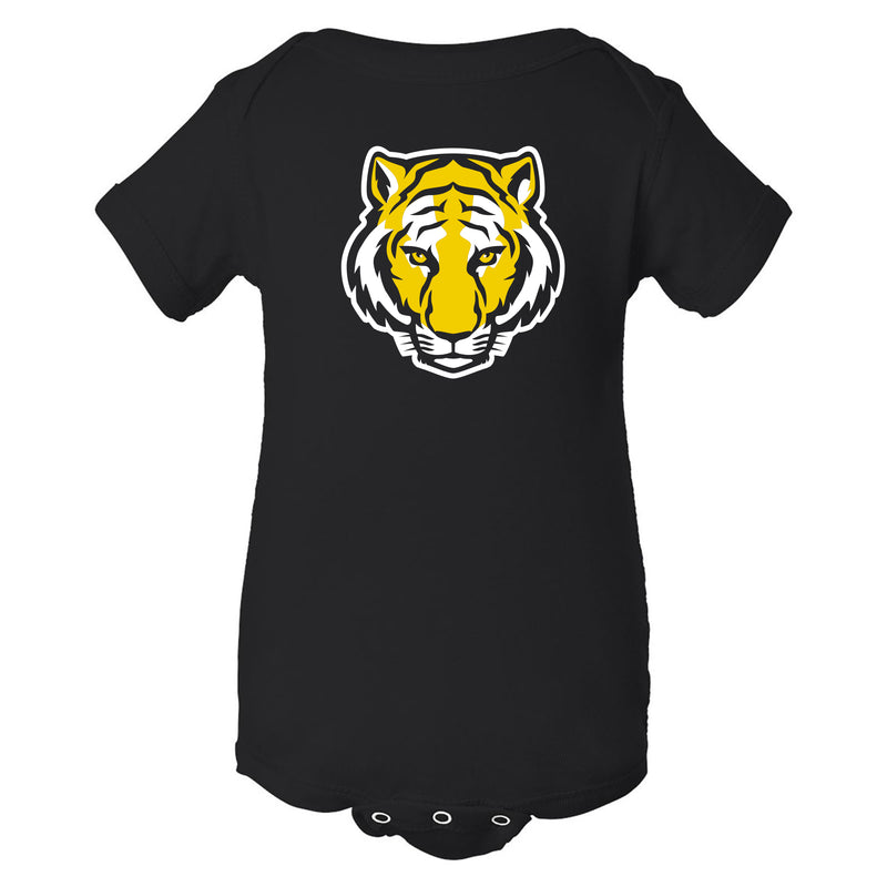 DePauw University Tigers Primary Logo Creeper - Black