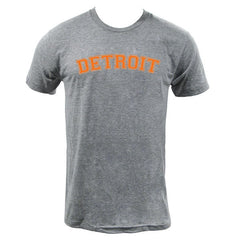 Detroit Orange - Athletic Grey