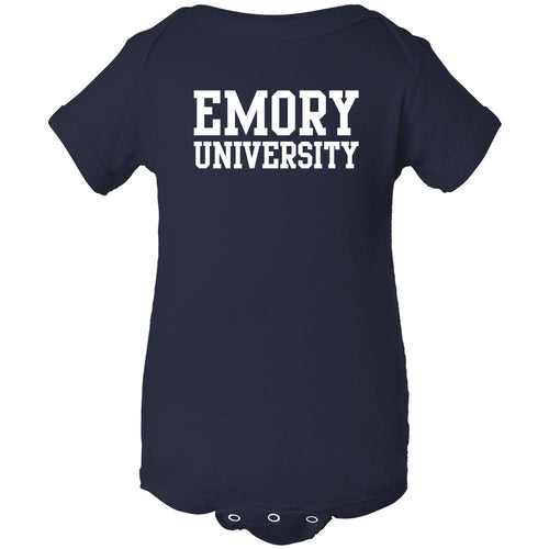 Emory University Eagles Basic Block Creeper - Navy