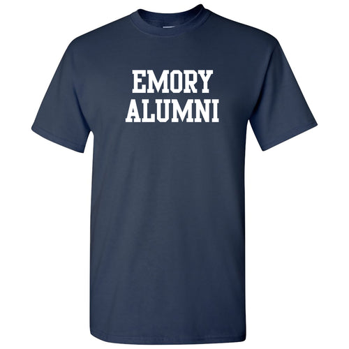 Emory University Eagles Alumni Block Short Sleeve T Shirt - Navy