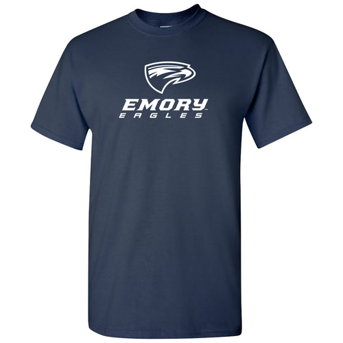 Emory University Eagles Primary Logo Short Sleeve T Shirt - Navy