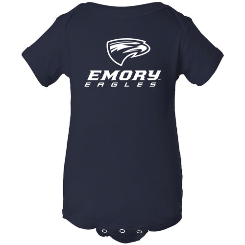 Emory University Eagles Primary Logo Creeper - Navy