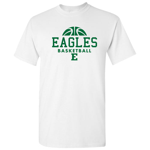 Eastern Michigan University Eagles Basketball Hype Short Sleeve T Shirt - White