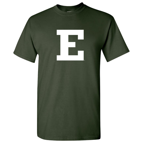 Eastern Michigan University Eagles Block E Short Sleeve T Shirt - Forest