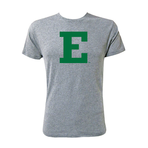 Eastern Michigan Primary Mark - Heather Grey Next Level Apparel