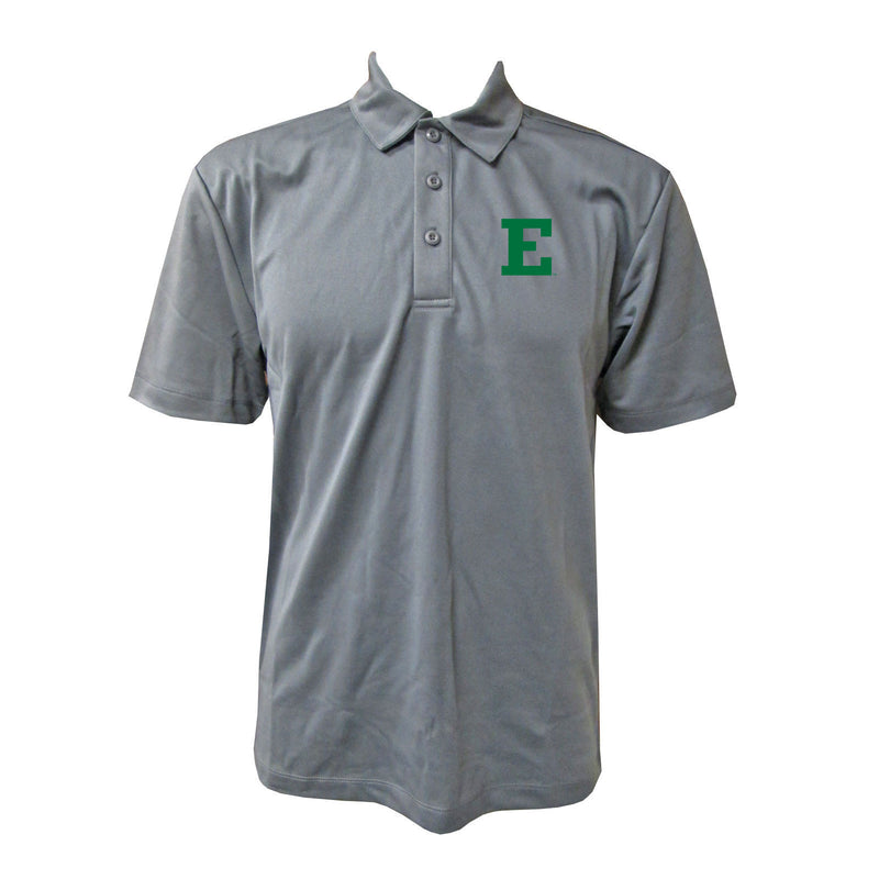 Eastern Michigan Primary Mark Polo - Steel Grey
