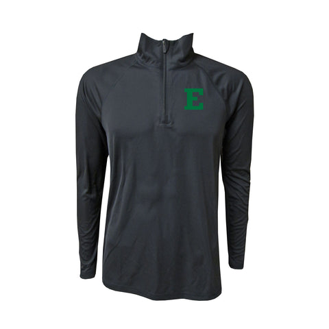 Eastern Michigan Primary Mark 1/4 Zip - Black