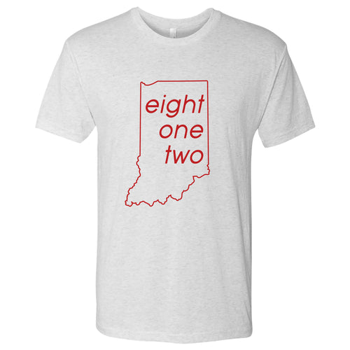 Eight One Two NLA Tee - Heather White