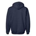 Tackle Twill Arch Hanes University of Michigan Hooded Sweatshirt - Navy