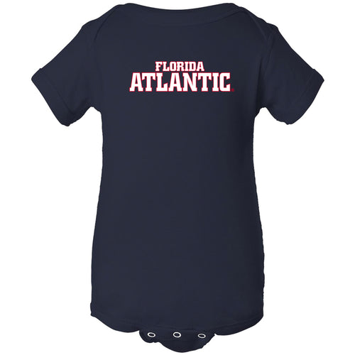 Florida Atlantic University Owls Basic Block Creeper - Navy