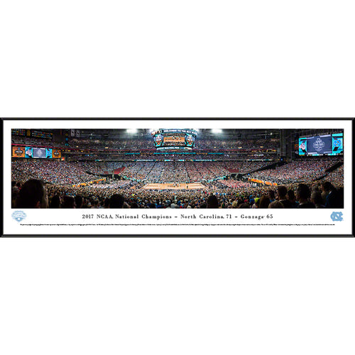 2017 NCAA Basketball Champions - University of North Carolina - Standard Frame