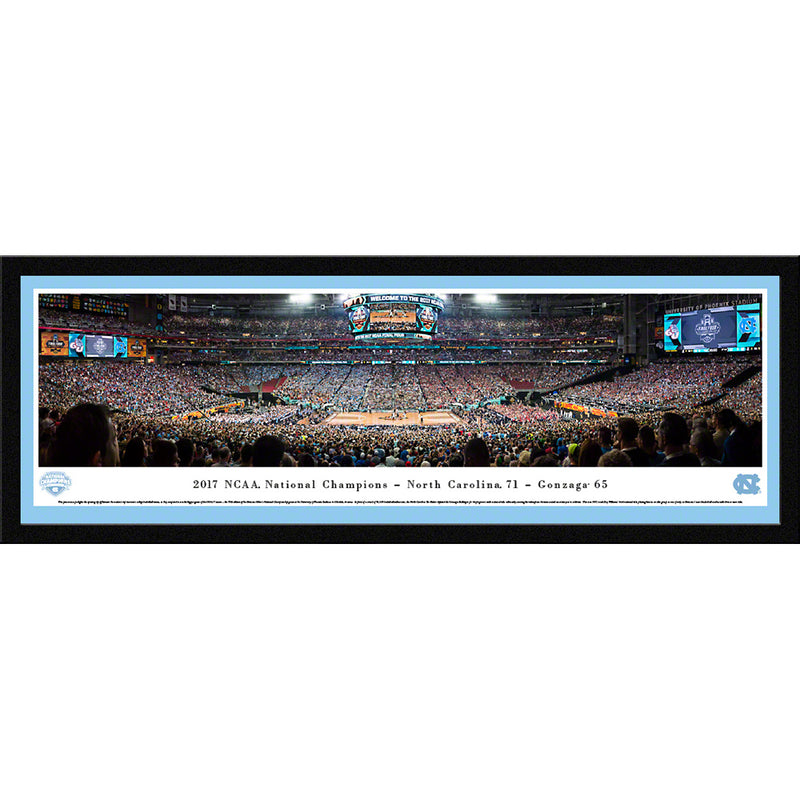 2017 NCAA Basketball Champions - University of North Carolina - Select Frame