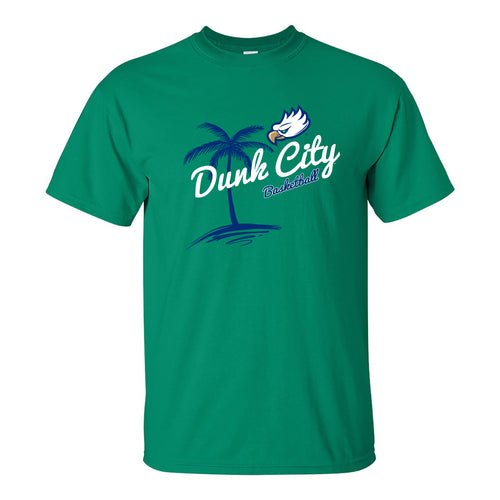 Florida Gulf Coast University Eagles Dunk City Palm Short Sleeve T Shirt - Kelly