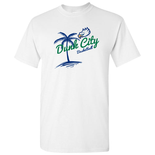 Florida Gulf Coast University Eagles Dunk City Palm Short Sleeve T Shirt - White
