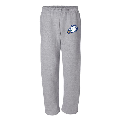 Florida Gulf Coast University Eagles Primary Logo Sweatpants - Sport Grey