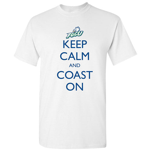 FGCU Keep Calm and Coast On - White