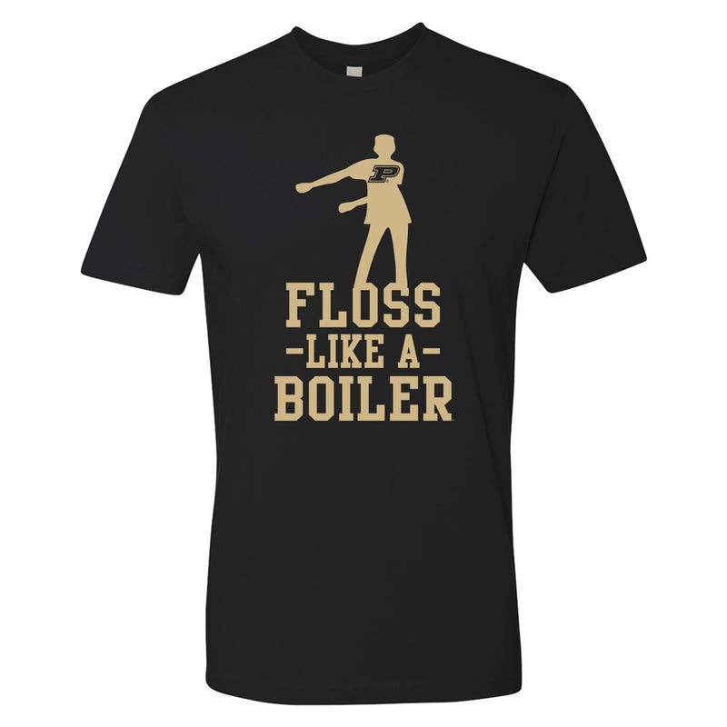 Floss Like a Boiler NLA T Shirt - Black