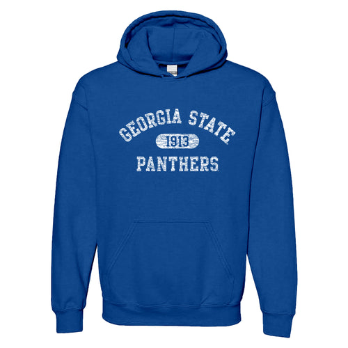 Georgia State University Panthers Athletic Arch Heavy Blend Hoodie - Royal