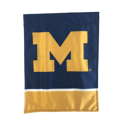Michigan Garden Flag - Navy