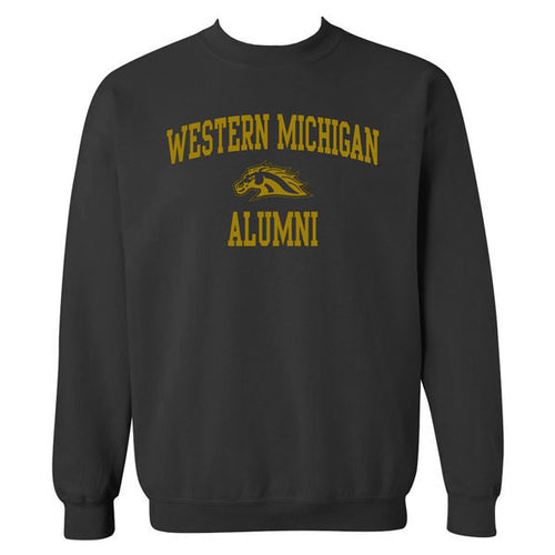 Western Michigan Alumni Crewneck - Black