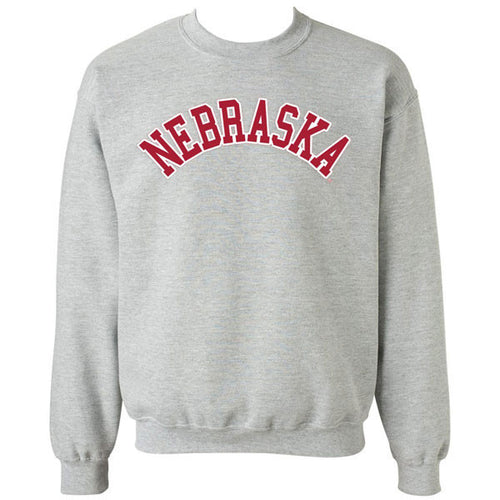 Arch Nebraska MVS Crew - Heather Grey