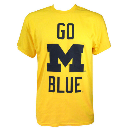 Go M Blue Stacked - Maize