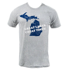 Great Lakes Great Times - Athletic Grey