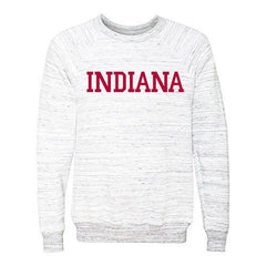 Indiana Sponge Fleece Pullover - Grey Marble