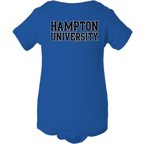 Hampton University Pirates Basic Block Creeper - Royal