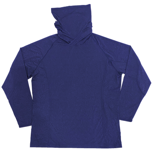 UGP Hoodie Mask Adult Longsleeve Performance Shirt - Navy