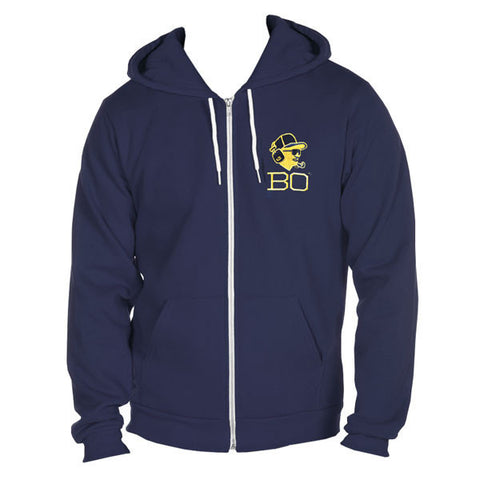 Bo Headset Full Zip Hoodie American Apparel - Navy